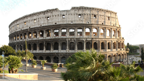 coliseum by day