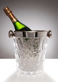 crystal champagne bucket poster