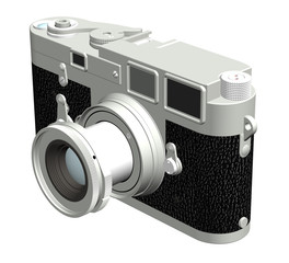 rangefinder camera, right