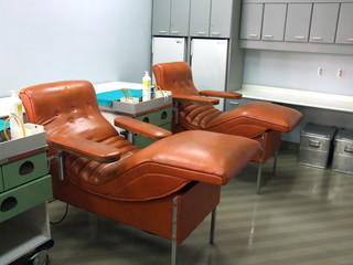 blood donate chair