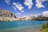 shore of the bow lake poster
