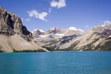 bow lake and bow glacier poster