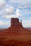 west mitten, monument valley, arizona poster