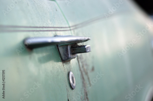 old car door handle
