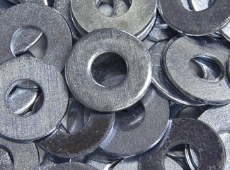 pile of washers