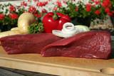 viande à fondu poster