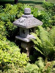japenese stone statue