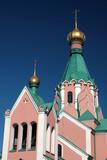orthodox church in olomouc, czech republic poster