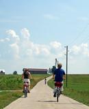 three cycling poster