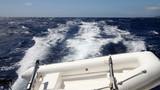 yacht wake poster