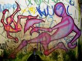 street art brazil poster
