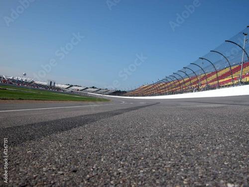 Fotobehang Motorsport racetrack