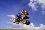Fototapety quad jump