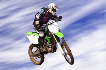 moto cross jump high