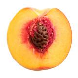 half peach poster