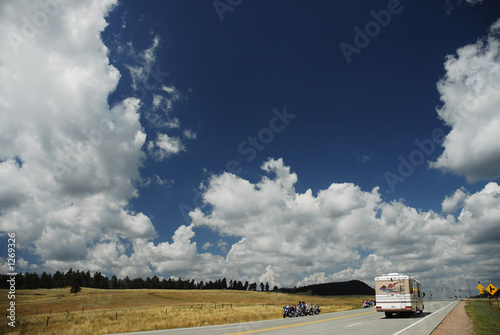 rv on highway