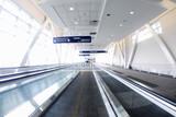 airport walkway poster
