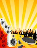 Fototapety love of music