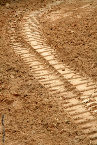 bulldozer tracks