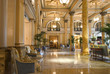 Leinwandbild Motiv hotel lobby