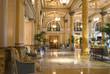Leinwanddruck Bild - hotel lobby