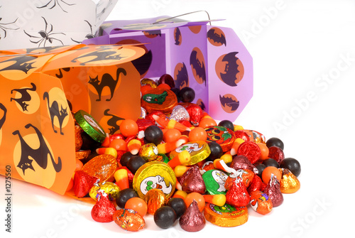 Aluminium Snoepjes halloween candy in chinese containers