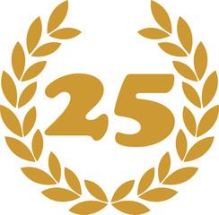 lorbeerkranz 25