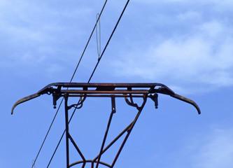 catenaria y tendido eléctrico
