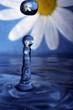 blue waterdrop