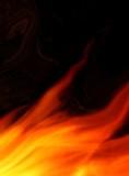 burning background poster
