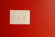 light switch red