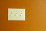 light switch orange poster