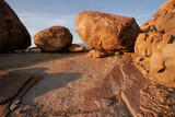 granite boulders poster