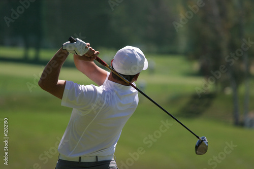 golf swing finish - 1282190