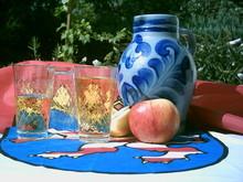 Vasos jarra de sidra (Bembel) y Sidra