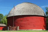 round  barn poster