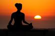 Leinwandbild Motiv yoga
