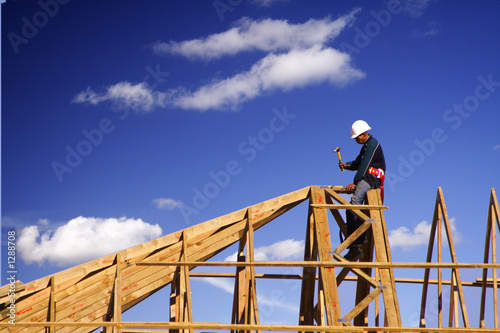 roofer high up