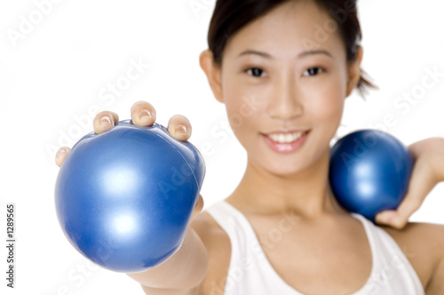 small fitness ball