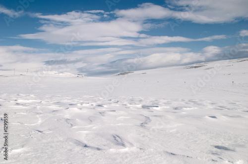 snow dunes - 1290559