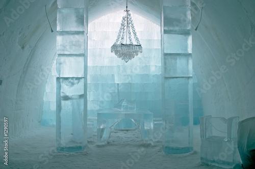 ice hotel - 1290597