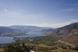 lake osoyoos, south of britsh columbia, canada poster