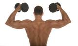 body builder poster