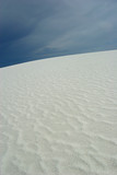 beautiful white sand dunes poster