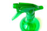 green spray bottle poster