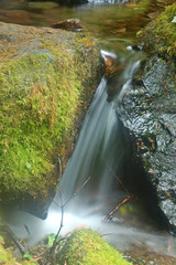 miniture waterfall
