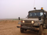 israeli army jeep poster