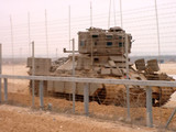 israeli army armored vehicle poster