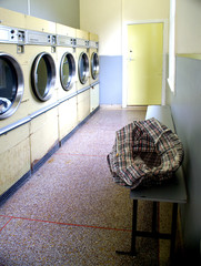 retro launderette