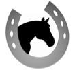 logo pferd / hufeisen